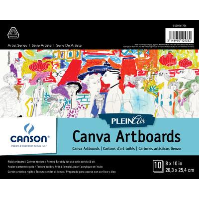 "Plein Air Canva Art Board Pad, 8"" x 10"""