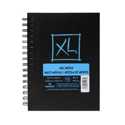 """XL Mix Media Book, 5.5"""" x 8.5"""""""