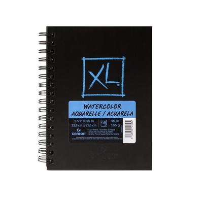 "XL Watercolor Book, 5.5"" x 8.5"""