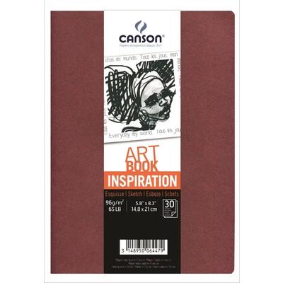 """Inspiration Art Book, 5.8"""" x 8.3"""""""