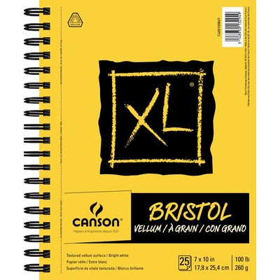 """XL Bristol Pad, Vellum - 7"""" x 10"""""""