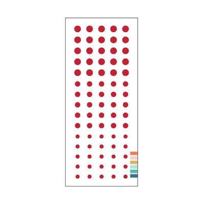 Enamel Dots, Cranberry