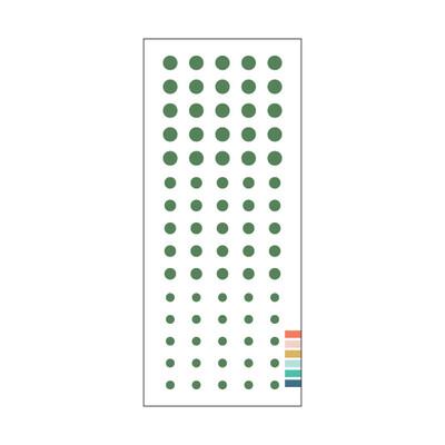 Enamel Dots, Evergreen