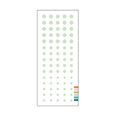 Enamel Dots, Sea Glass