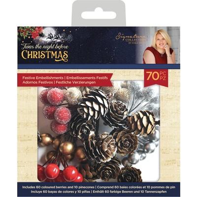 SS Festive Embellishments, 'Twas the Night Before Christmas