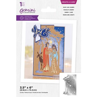 Gemini Create a Card Die, Mary and Joseph