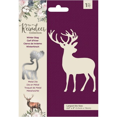 Die, The Reindeer Collection - Winter Stag