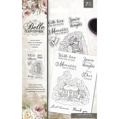 Clear Stamp, Belle Countryside - Country Home