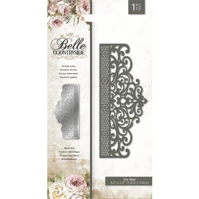 Die, Belle Countryside - Ornate Lace