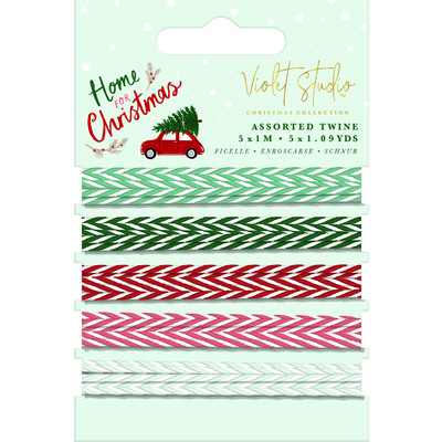 Violet Studio Assorted Twine, Home for Christmas