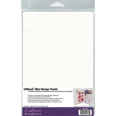 "EZ Binder Mini Stamp Storage Panels, 8.5X5.75"" (4pk)"