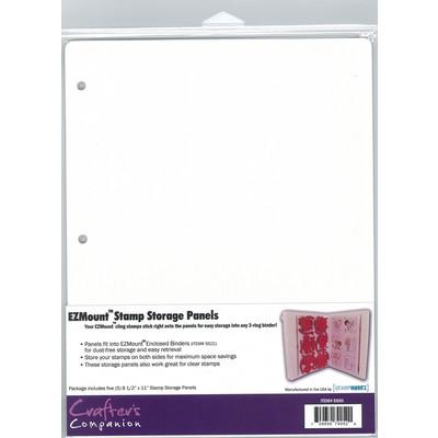 8.5X11 Stamp N' Stor Storage Panels, Lightweight (5pk)