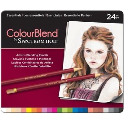 ColourBlend, 24pc Pencil Tin - Essentials