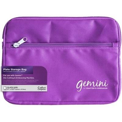 Gemini Accessory, Purple Gemini Plate Bag