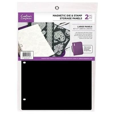 Storage Panels, Magnetic Die & Stamp - 8.5X11 (2pk)