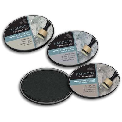 Harmony Water Reactive Ink Pad, Dusky Shades (3pc)