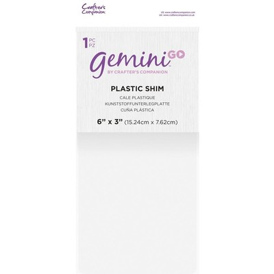 Gemini Go Accessory, Plastic Shim