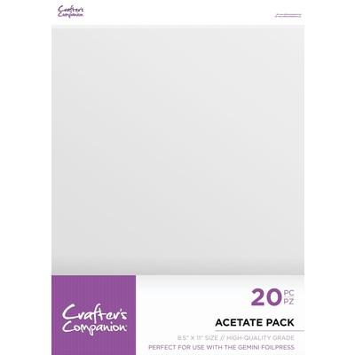 8.5X11 Acetate Pack (20pc)