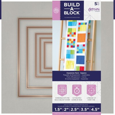 Gemini Build-A-Block Expansion Pack, Squares