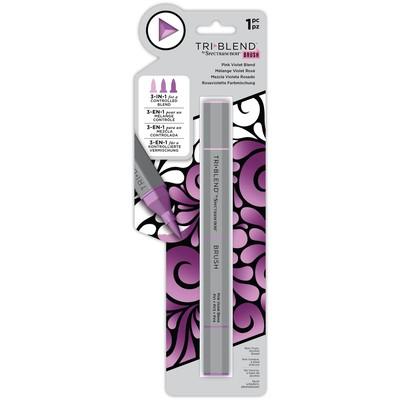 Tri Blend Brush Marker, Pink Violet Blend