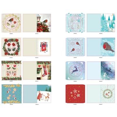 Dome Card Kit, Christmas