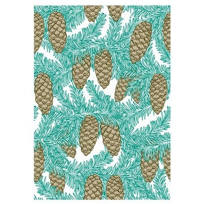 Clear Stamp, Layered Background - Winter Pine