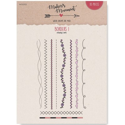 Clear Stamp, Borders