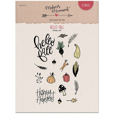 Clear Stamp, Hello Fall