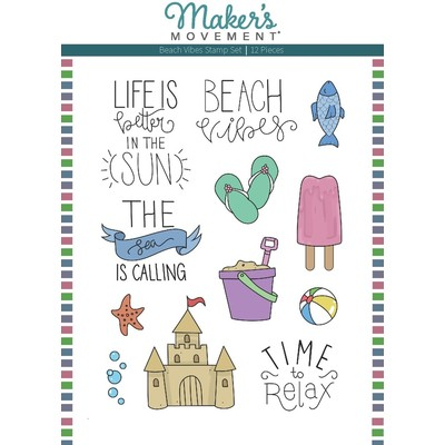 Clear Stamp, Beach Vibes