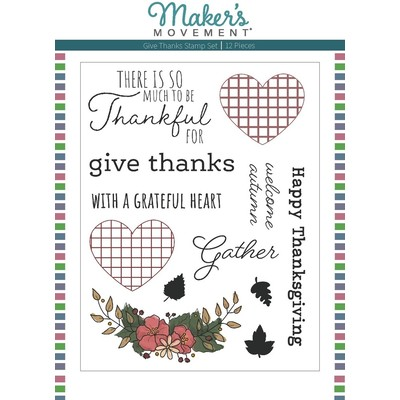 Clear Stamp, Give Thanks