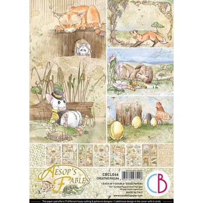 A4 Creative Pad, Aesop's Fables