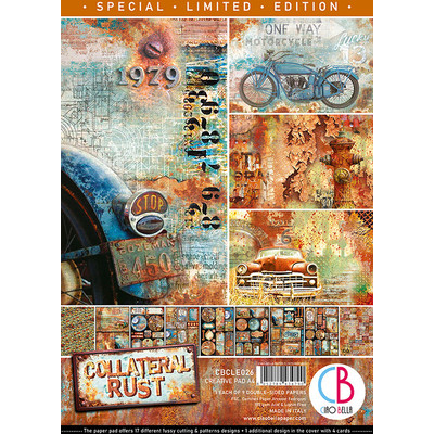 A4 Creative Pad, Collateral Rust *Limited Edition*