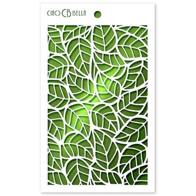 Texture Stencil, Leaves