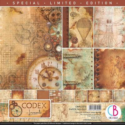12X12 Paper Pad, Codex Leonardo *Limited Edition*
