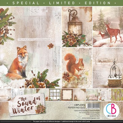 12X12 Paper Pad, The Sound of Winter *Limited Edition*