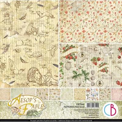 12X12 Patterns Paper Pad, Aesop's Fables