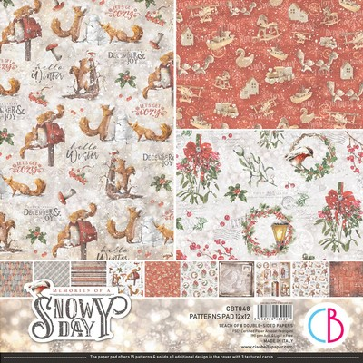 12X12 Patterns Pad, Memories of a Swony Day