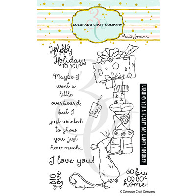 Clear Stamp, BIG Love