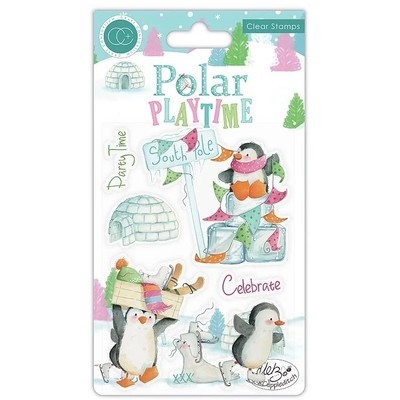 Clear Stamp, Polar Playtime