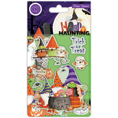 Clear Stamp, Happy Haunting - Trick or Treat