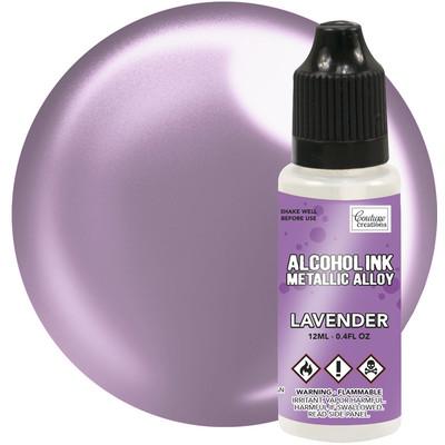 Alcohol Ink, Metallics - Lavender