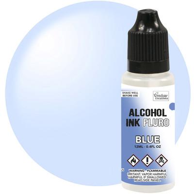Alcohol Ink, Fluro - Blue