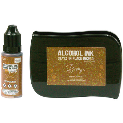 Stayz in Place Alcohol Ink Pad, Pearlized - Bronze