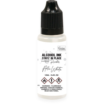 Stayz in Place Alcohol Reinker, Pearlized - Arctic White