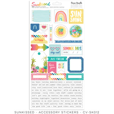 Accessory Stickers, Sunkissed