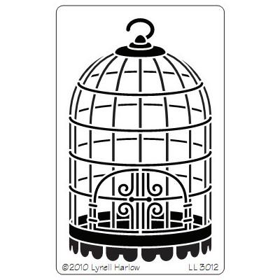 Stencil, Birdcage