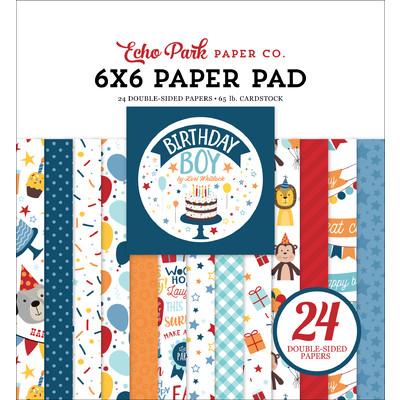 6X6 Paper Pad, Birthday Boy