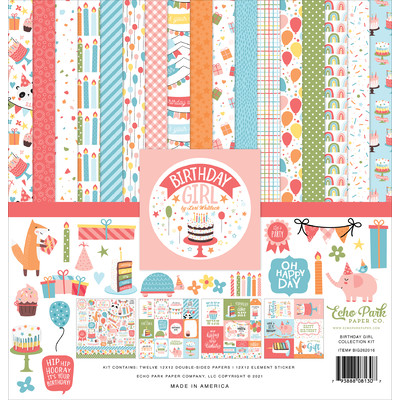 12X12 Collection Kit, Birthday Girl
