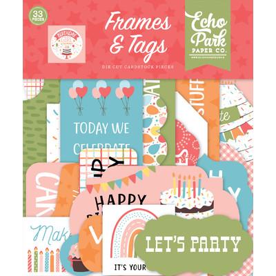 Frames & Tags, Birthday Girl