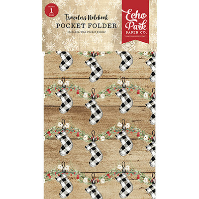 Travelers Notebook Insert, Christmas - Lined